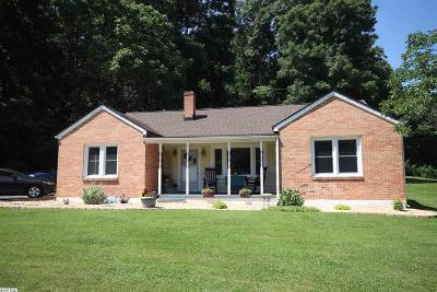 Staunton Single Family Home For Sale: 779 Howardsville Rd