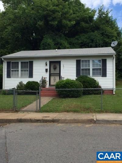 Charlottesville  Single Family Home For Sale: 801 Page St