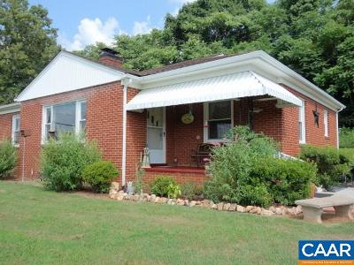 Nelson County Single Family Home For Sale: 10810 James River Rd