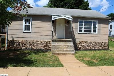 Staunton VA Single Family Home For Sale: $39,900
