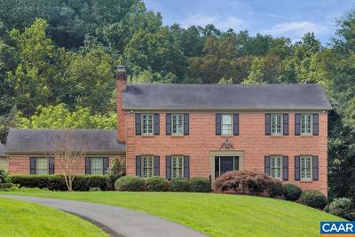 Albemarle County Single Family Home For Sale: 1707 Lambs Rd