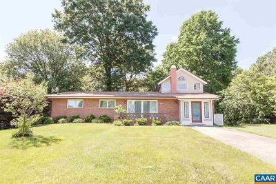 Charlottesville Single Family Home For Sale: 2617 Commonwealth Dr