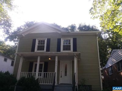 Charlottesville Single Family Home For Sale: 335 SW 6th St