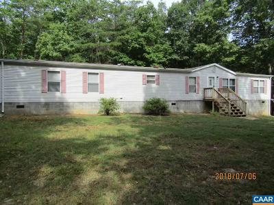 Buckingham County Single Family Home For Sale: 11075 Constitution Hwy