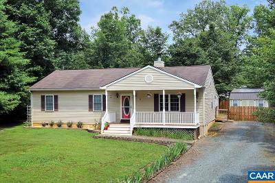 Fluvanna County Single Family Home For Sale: 97 Jefferson Dr