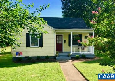 Charlottesville Single Family Home For Sale: 716 Altavista Ave