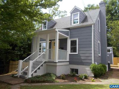 Charlottesville Multi Family Home For Sale: 1304 Belleview Ave
