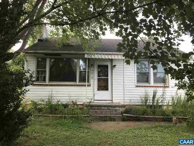 Albemarle County Single Family Home For Sale: 5610 Three Notch'd Rd