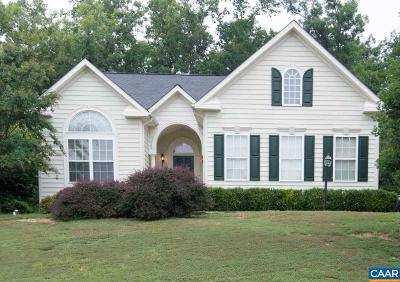 Fluvanna County Single Family Home For Sale: 95 Justin Dr