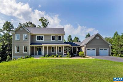 Albemarle County Single Family Home For Sale: 5325 Millhouse Dr