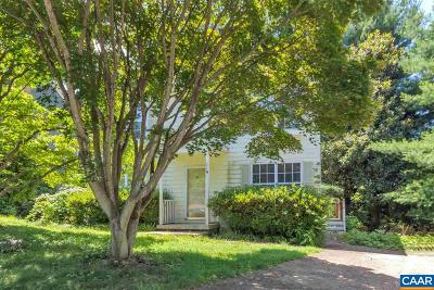 Charlottesville Single Family Home For Sale: 118 Westwood Cir