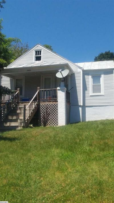 Staunton VA Single Family Home For Sale: $89,900