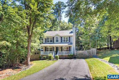 Fluvanna County Single Family Home For Sale: 856 Jefferson Dr