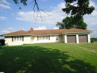 Augusta County Single Family Home For Sale: Tbd 305 Centerville Rd