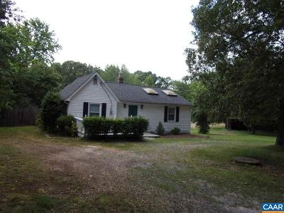 Fluvanna County Single Family Home For Sale: 765 Three Chopt Rd