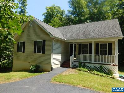 Fluvanna County Single Family Home For Sale: 25 S Bearwood Dr