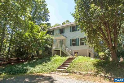 Charlottesville Single Family Home For Sale: 1884 Decca Ln