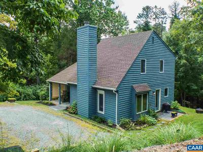 Charlottesville Single Family Home For Sale: 1363 Gristmill Dr