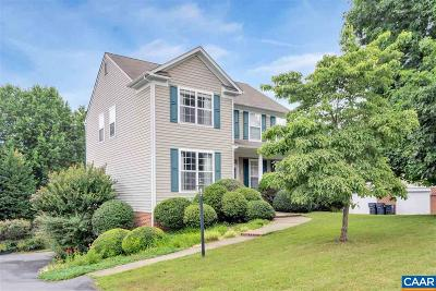 Charlottesville VA Single Family Home For Sale: $419,000