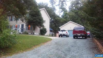 Fluvanna County Single Family Home For Sale: 22 Northwood Rd