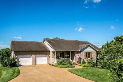 New Market Single Family Home For Sale: 9911 Woodbine Way