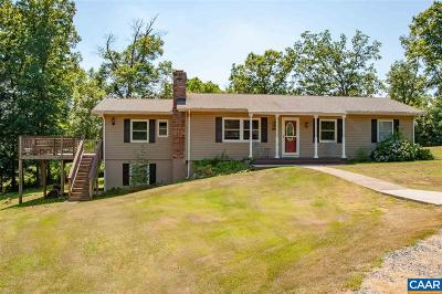 Single Family Home For Sale: 549 Horseshoe Rd