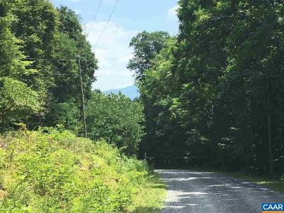 Nelson County Lots & Land For Sale: Crawfords Knob Ln