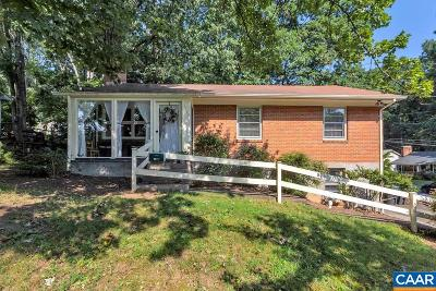 Charlottesville Single Family Home For Sale: 1711 Cherry Ave