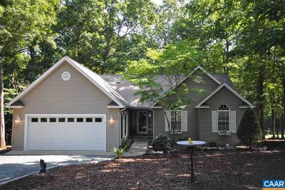 Fluvanna County Single Family Home For Sale: 43 Out Of Bounds Rd