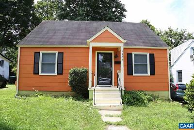 Charlottesville Single Family Home For Sale: 1326 Chesapeake St