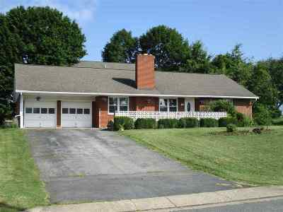 Single Family Home For Sale: 540 Alleghany Ave