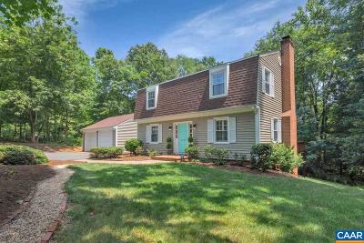 Charlottesville VA Single Family Home For Sale: $515,000