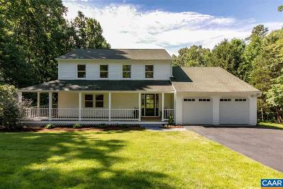 Albemarle County Single Family Home For Sale: 385 Buck Mountain Rd