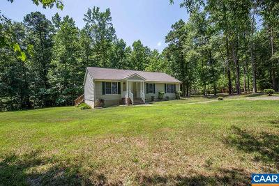 Fluvanna County Single Family Home For Sale: 532 Deep Creek Rd