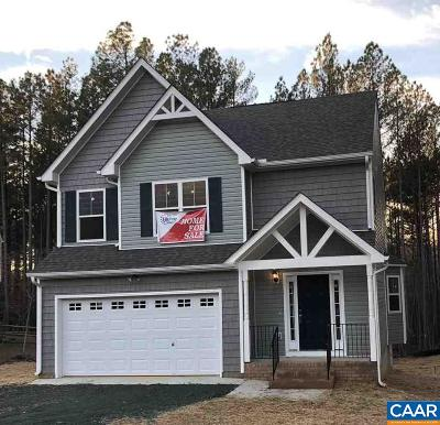 Fluvanna County Single Family Home For Sale: 594 Cunningham Meadows Dr