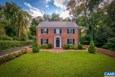Charlottesville Single Family Home For Sale: 1818 Winston Rd