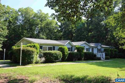 Fluvanna County Single Family Home For Sale: 329 Aldridge Ln