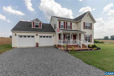 Fluvanna County Single Family Home For Sale: 254 Ironhound Dr