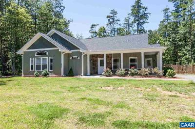 Fluvanna County Single Family Home For Sale: 561 Jefferson Dr