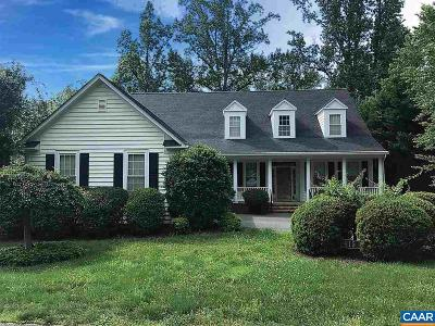Charlottesville VA Single Family Home For Sale: $535,000