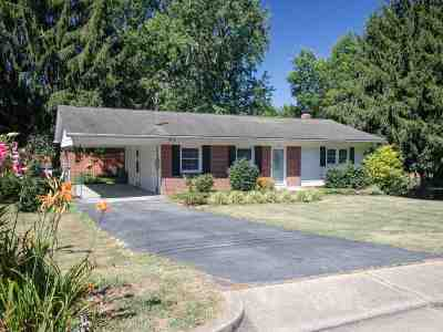 Harrisonburg Single Family Home For Sale: 303 Hillandale Ave