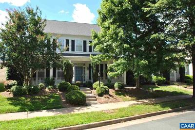 Charlottesville Single Family Home For Sale: 3293 Turnberry Cir