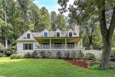 Albemarle County Single Family Home For Sale: 4375 Taylor Creek Rd