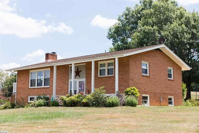 Crimora VA Single Family Home For Sale: $315,000