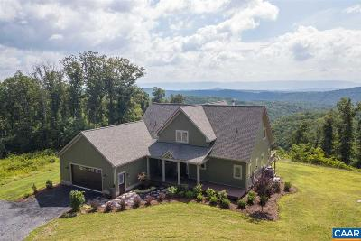 Shenandoah County Single Family Home For Sale: 13884 Supinlick Ridge Rd