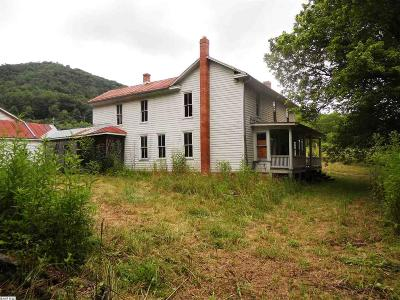 Single Family Home For Sale: 688 Cowpasture River Rd South
