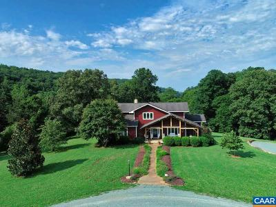 Albemarle County Single Family Home For Sale: 2385 Quarles Rd