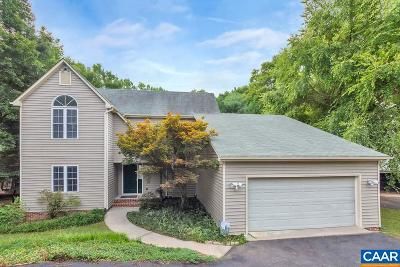 Charlottesville Single Family Home For Sale: 2039 Whispering Woods Dr