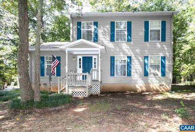 Fluvanna County Single Family Home For Sale: 382 Fox Ridge Ln