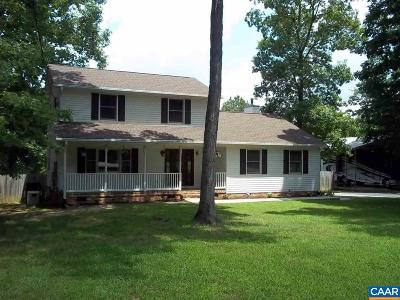 Louisa County Single Family Home For Sale: 4201 Campbell Rd
